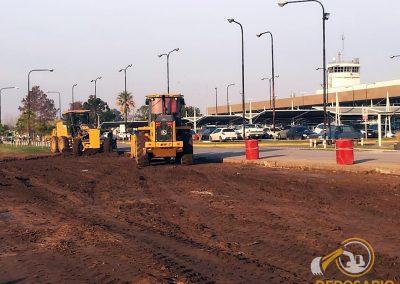 """Playa de Estacionamiento en Aeropuerto Internacional de Rosario """"Islas Malvinas"""" – Rosario, Santa Fe"""