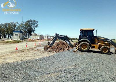Excavación y Zanjeo en planta AGD – Timbúes, Santa Fe